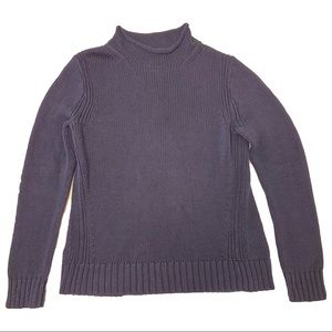 J. Crew Always 1988 Rollneck™ Sweater cotton Navy